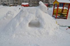 Снежные фигуры