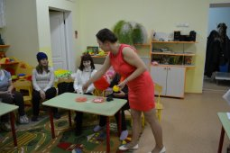 Шакмаева с родителями