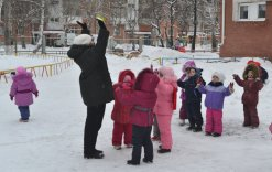 На лесной полянке - детский сад 29 Тобольск