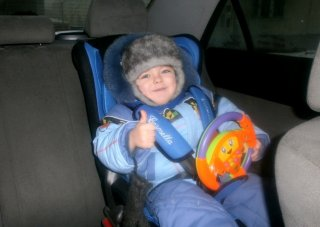 Конкурс фотографий   «Мой ребенок в детском автокресле»
