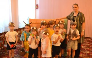 Волк и семеро козлят - детский сад № 29 г. Тобольска