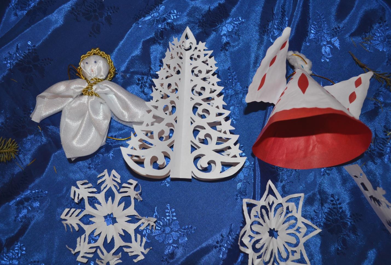 Поделки к рождеству своими руками в детский сад
